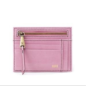 NWT Hobo Brink Credit Card Wallet in Lilac